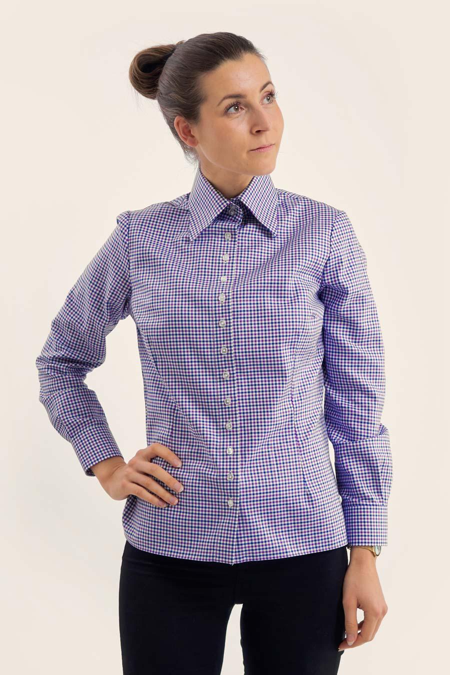 BPW Check Dame Skjorte 5