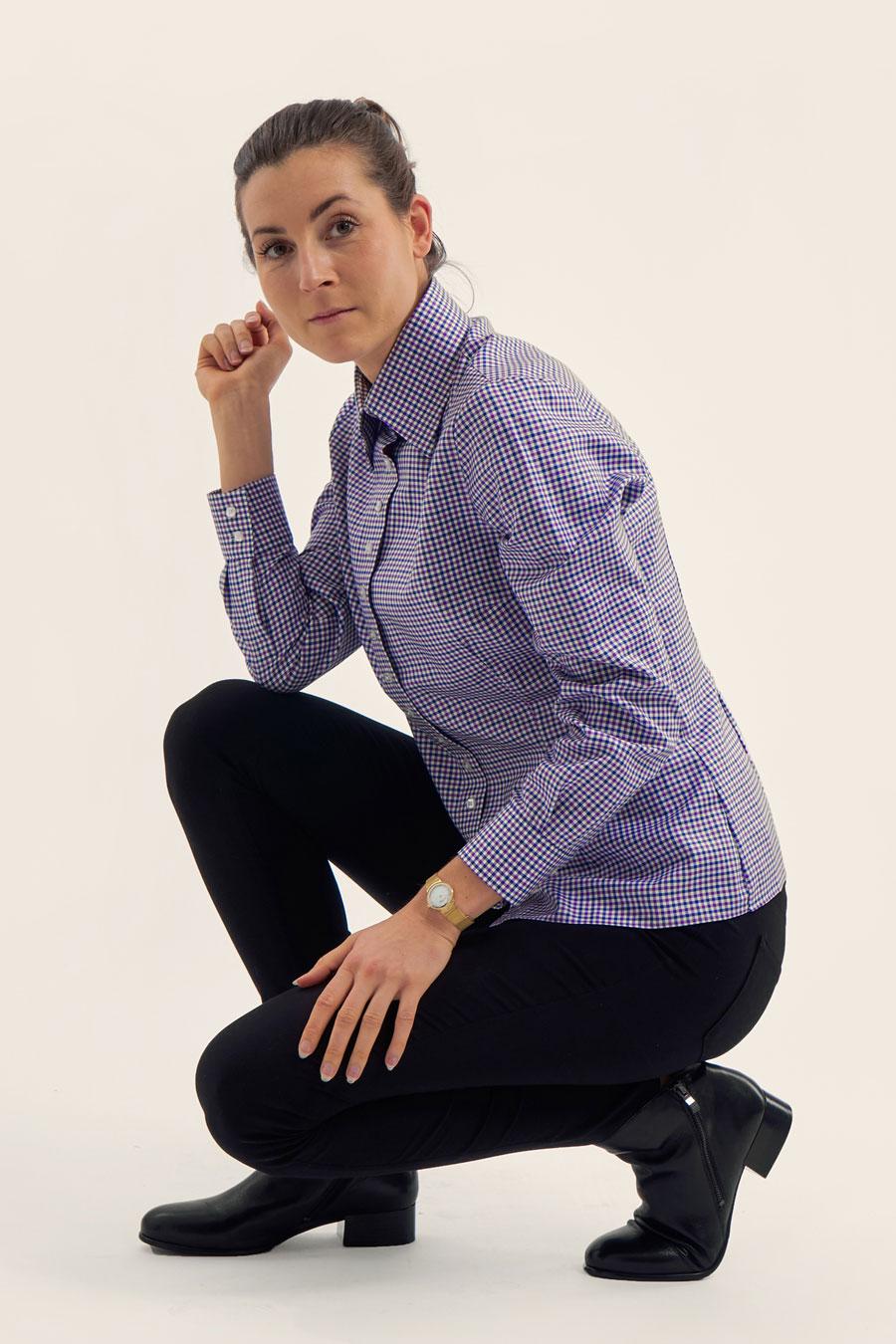 BPW Check Dame Skjorte 2