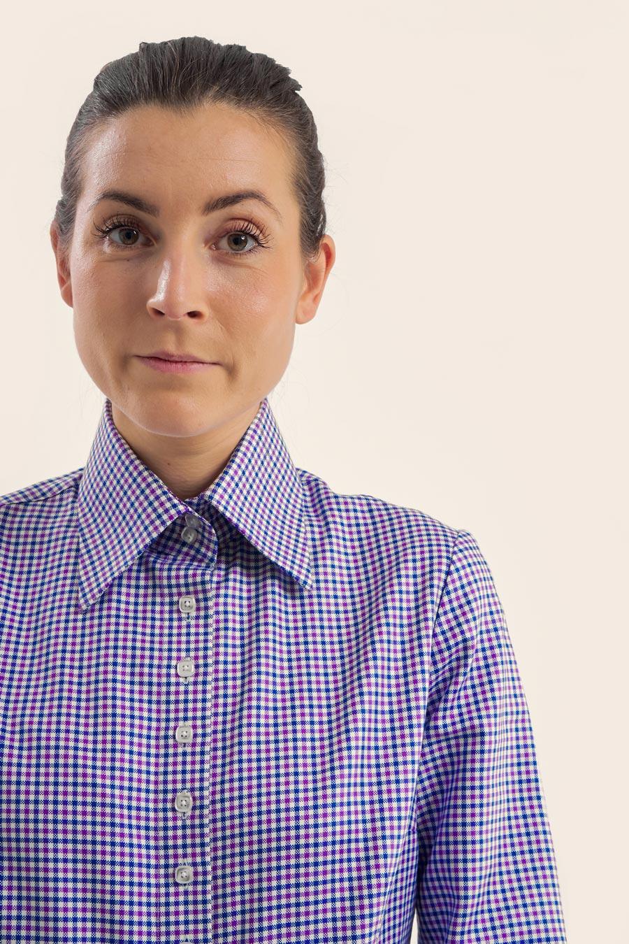 BPW Check Dame Skjorte 1