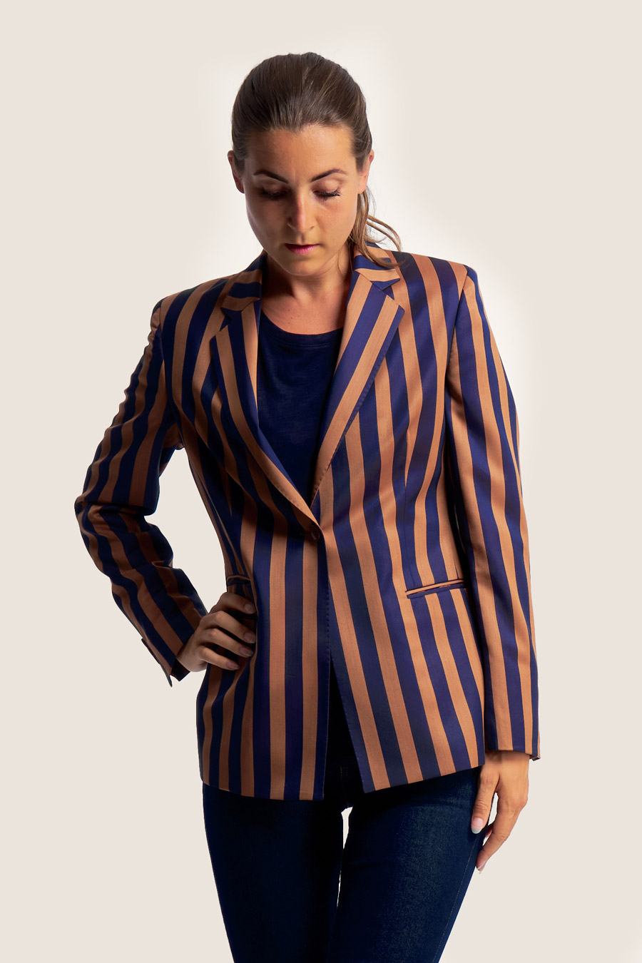 Blazing Stripes Dame Jakke 6