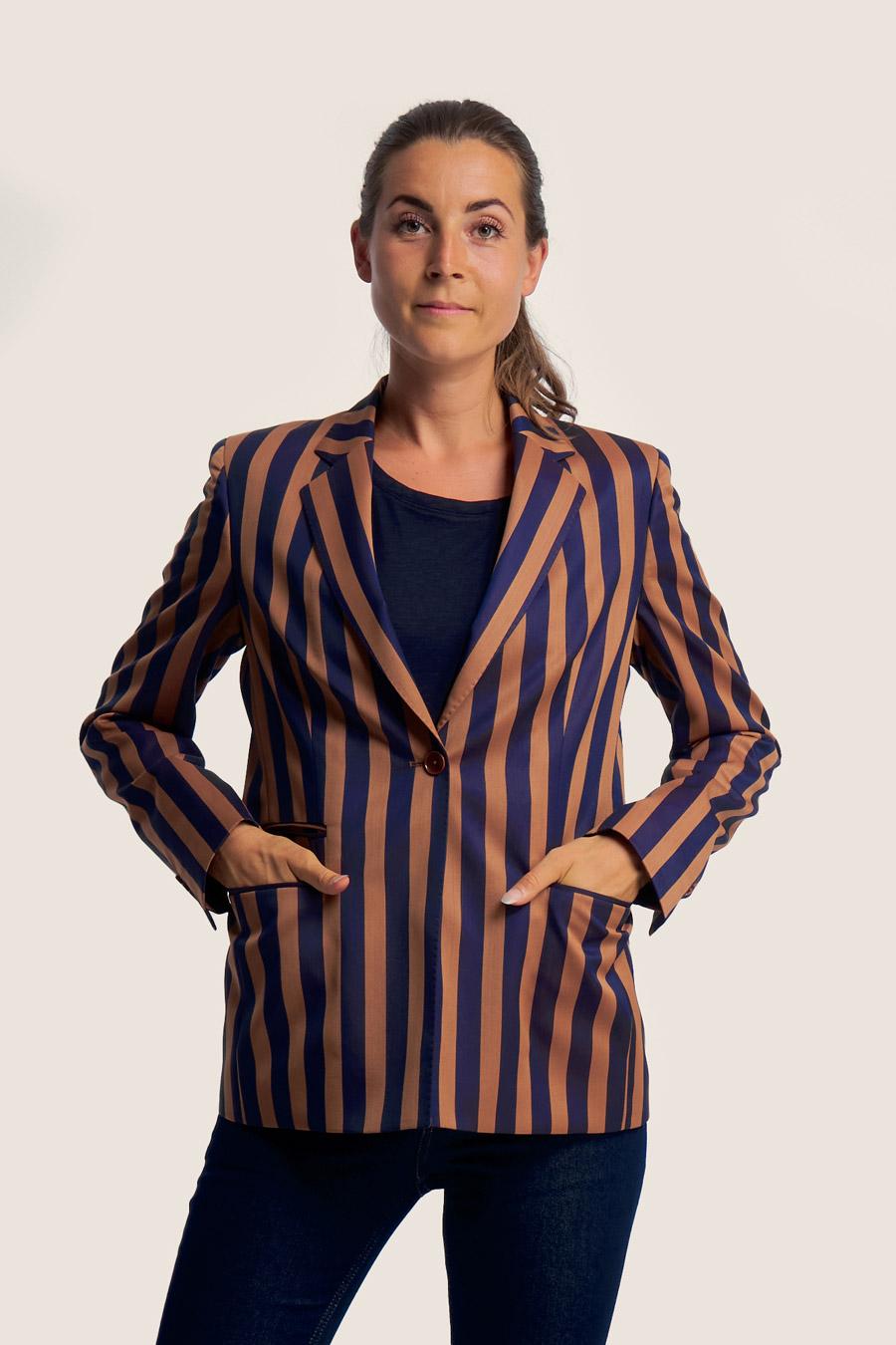 Blazing Stripes Dame Jakke 1