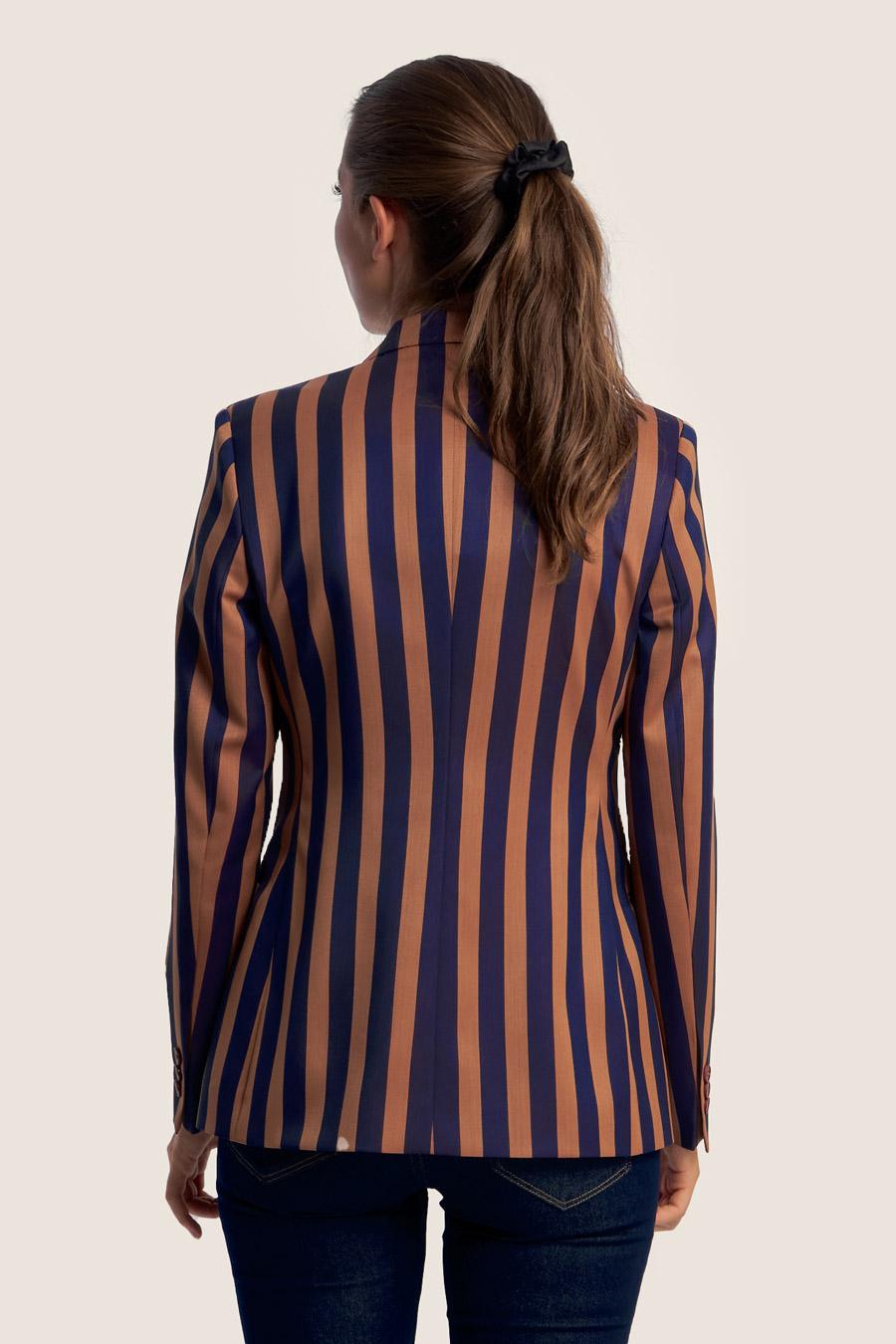 Blazing Stripes Dame Jakke 2
