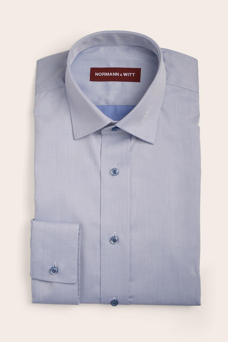 "Featured image for ""Blue Cotton Herre Skjorte"""