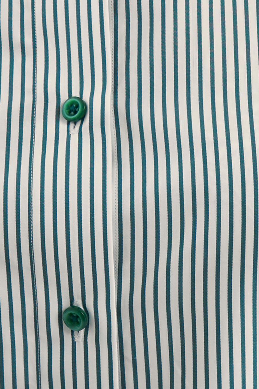 Green Stripes Dame Skjorte 3