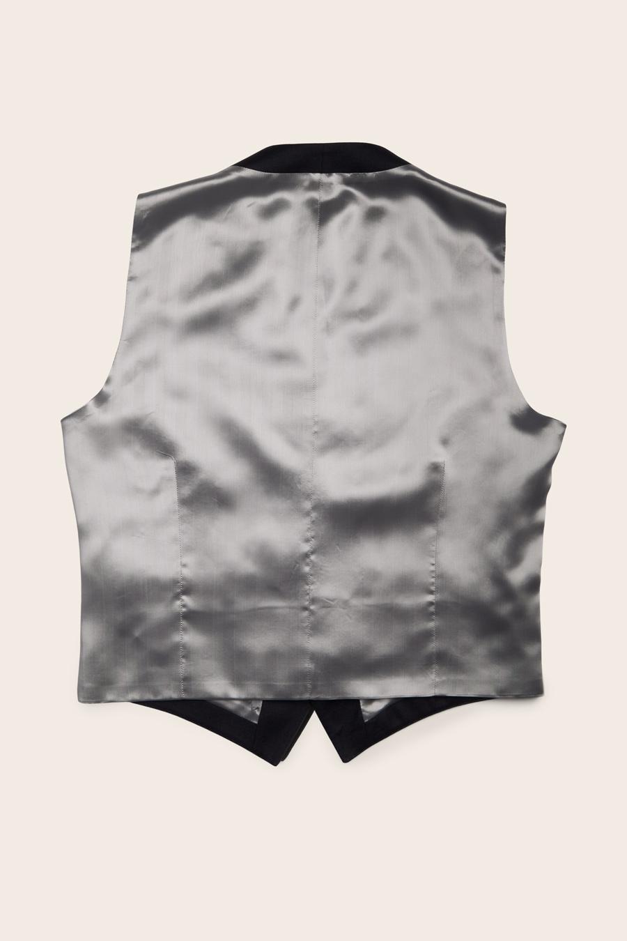 Navy Wool Herre Vest 2