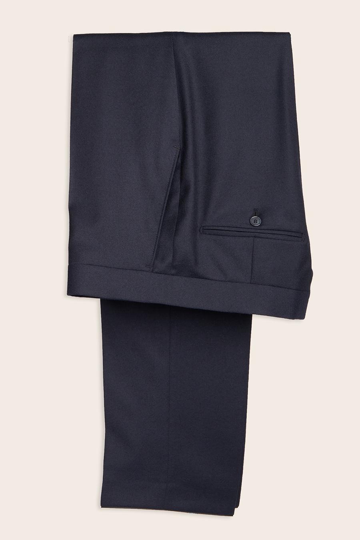 Navy Wool Herre Buks 1