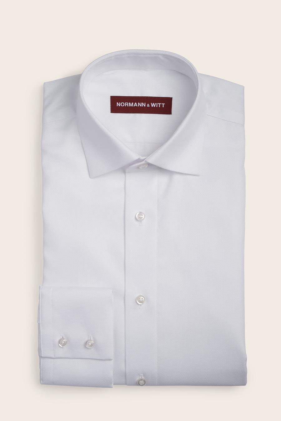"Featured image for ""White Cotton Herre Skjorte"""