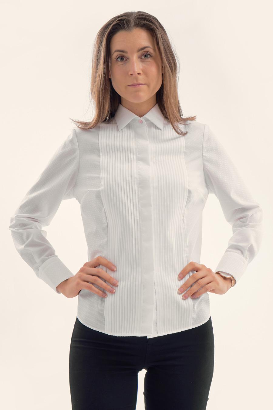 White Dot Dame Skjorte 2